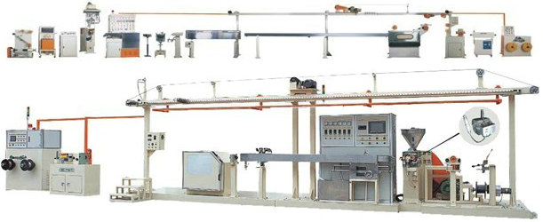 Cable Sheathing Extrusion Line HAGSIN Mechanical & Electrical ...